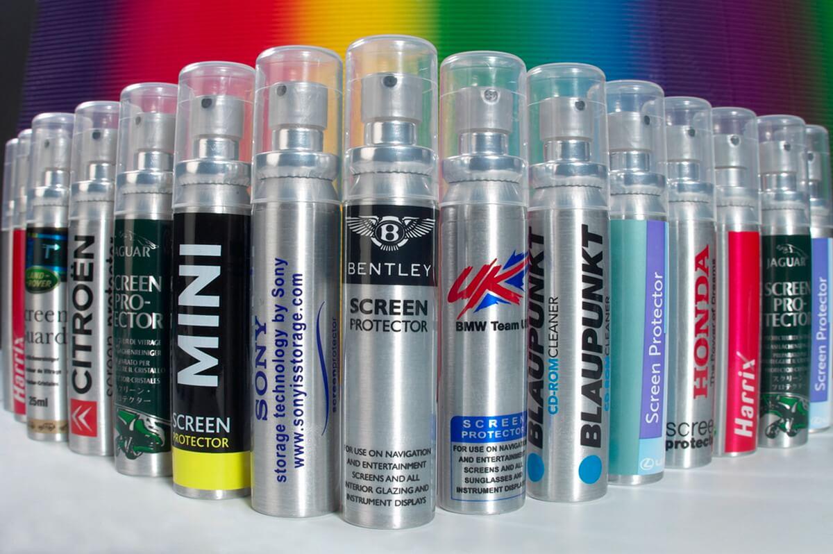 Branded Spritzer Spray Bottles photography