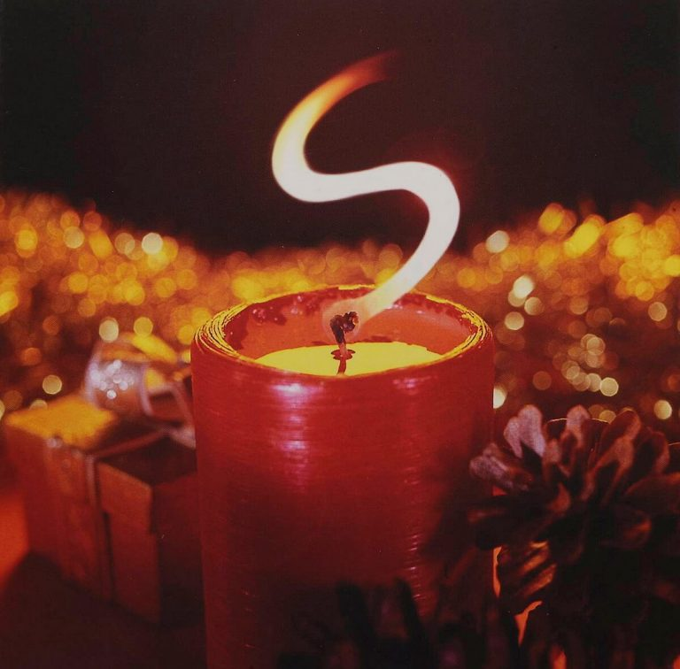 Christmas Candle Photograph for Salloways Solicitors