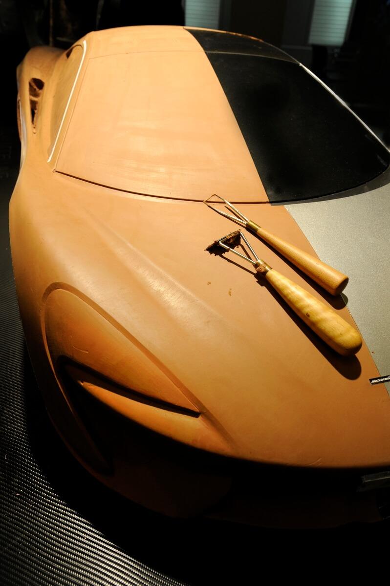 McLaren Design Model Photography - Car Launch Solihull