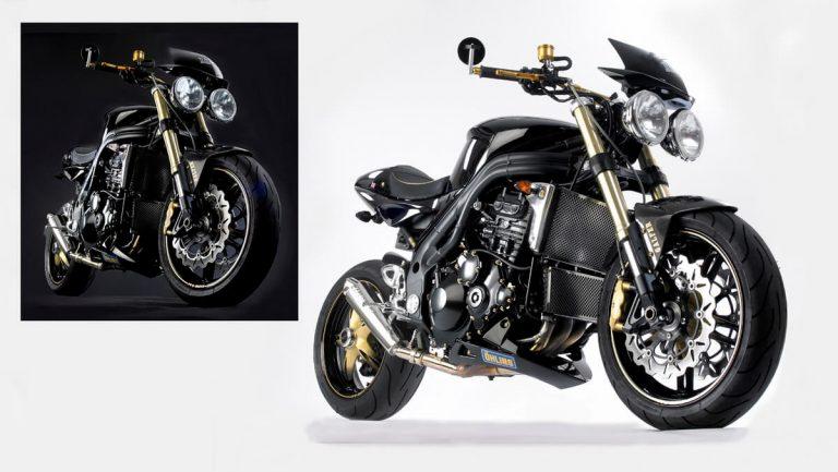 Motorbike - Studio Photograph