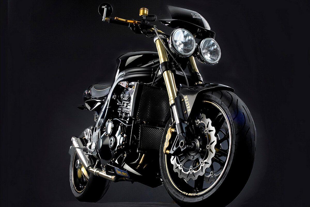 Motorbike Studio Photography for Motorbike Magazine