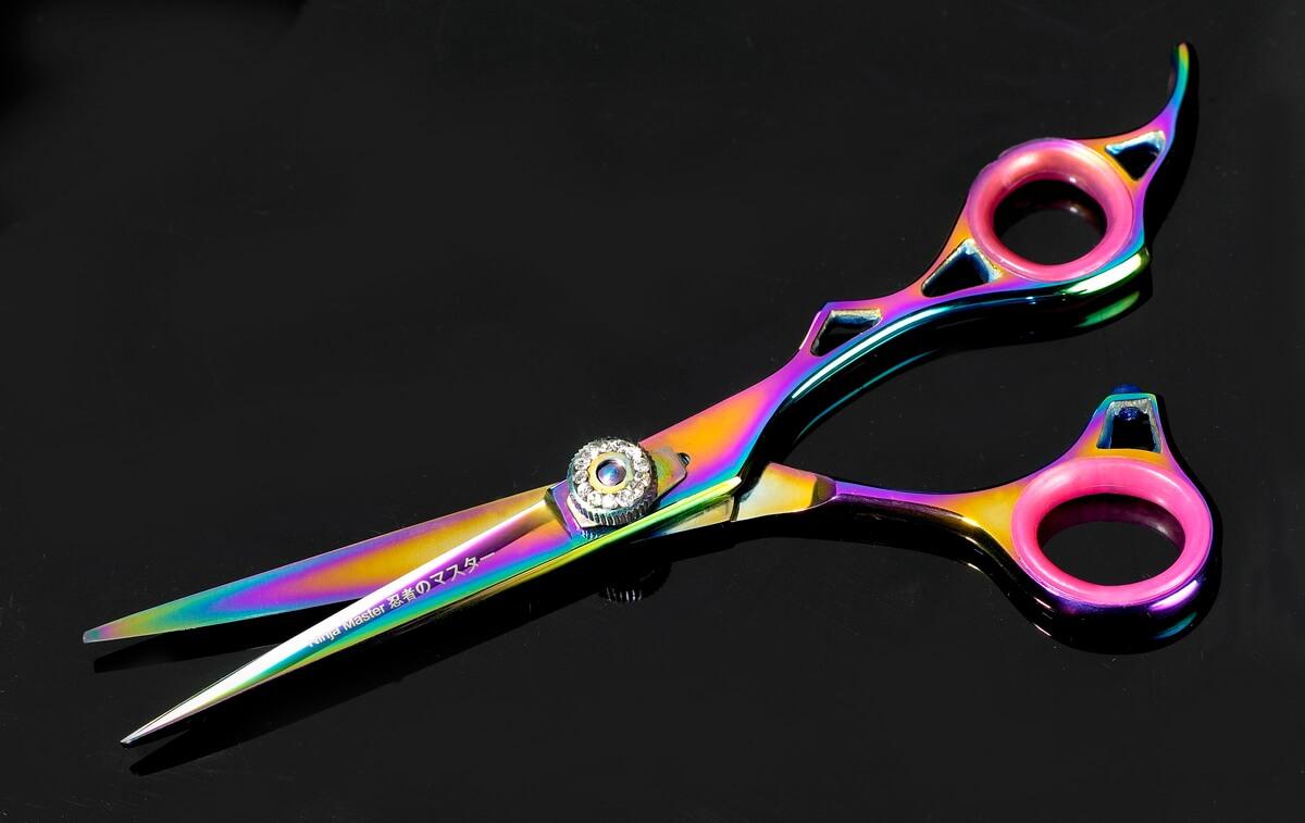 Ninja Master Hairdressing Scissors  - Advertising Product Photo