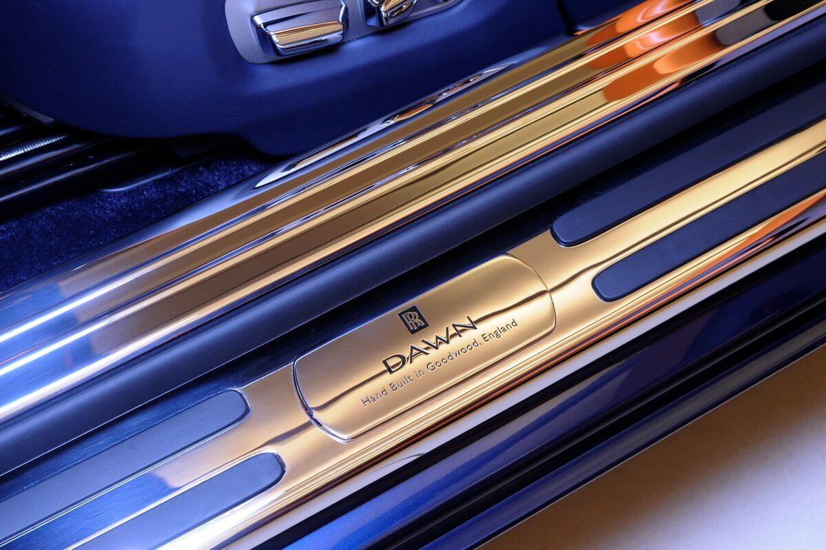 Rolls Royce Dawn Launch Interior Detail Photographs