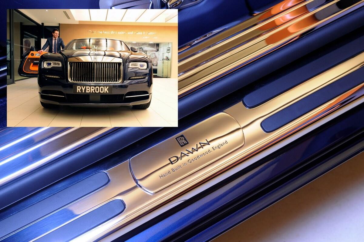 Rolls Royce Dawn - Launch Photographs