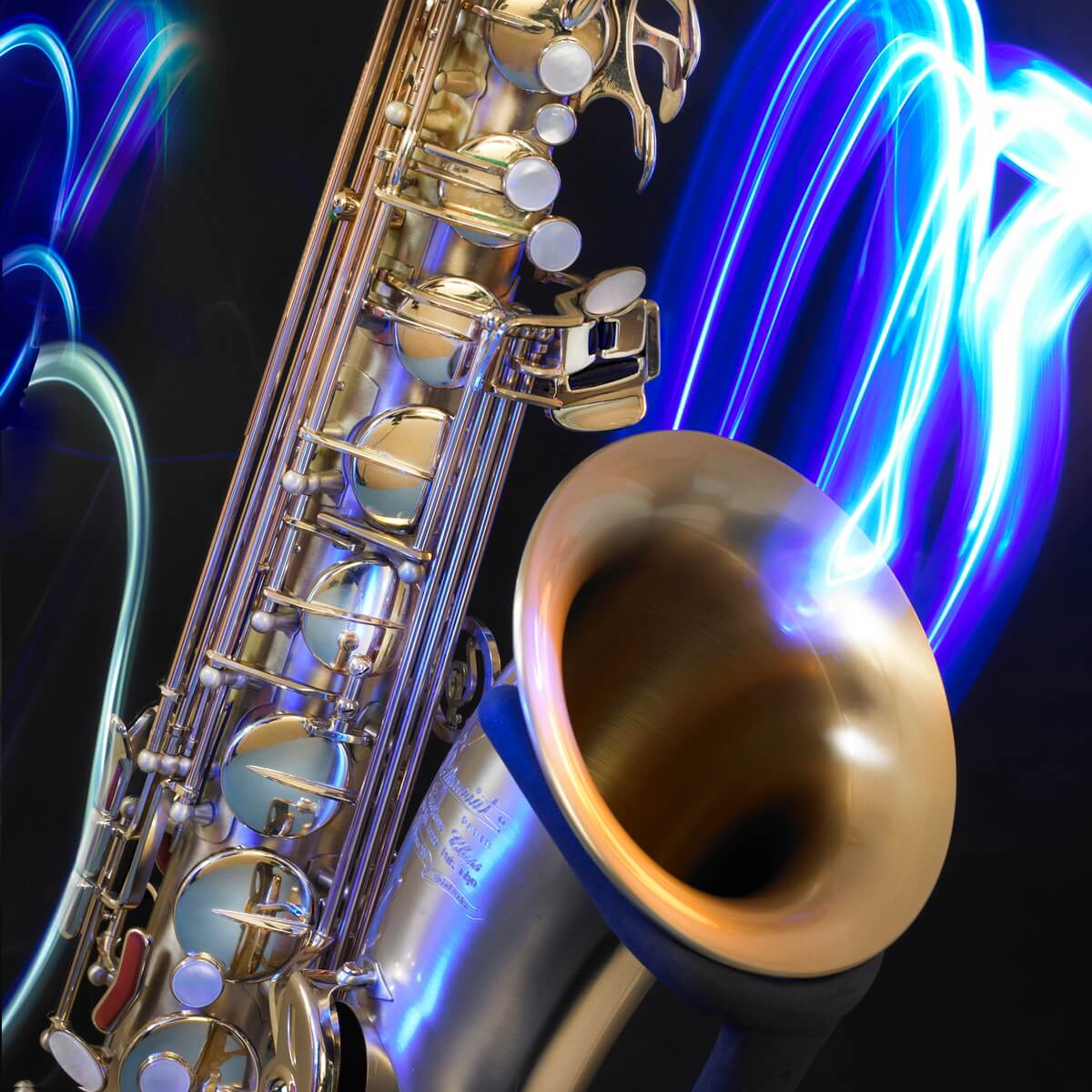 Saxophone Musical Instrument - Jazz Poster Photography