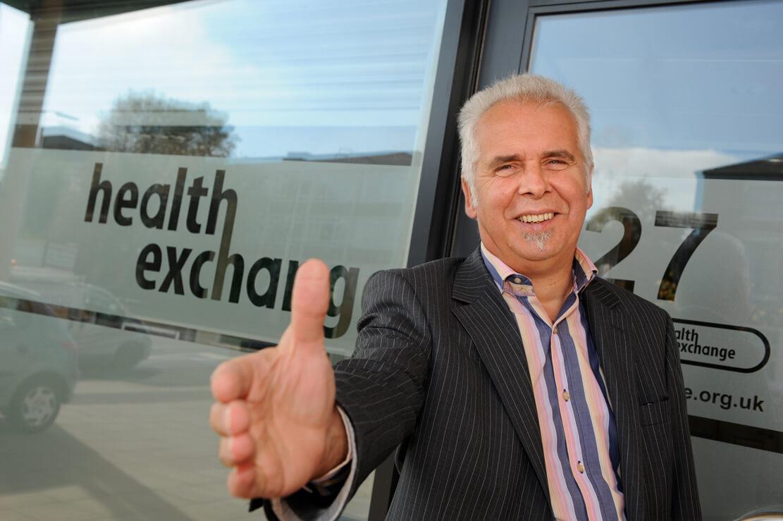 Birmingham PR Portrait Photography, Public Relations Photographer in the Midlands, Health Exchange, CEO PR