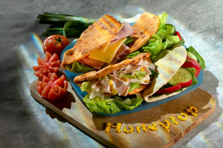 Commercial Photography for Bakery Business - Birmingham- Honeytop Flatbread Photo