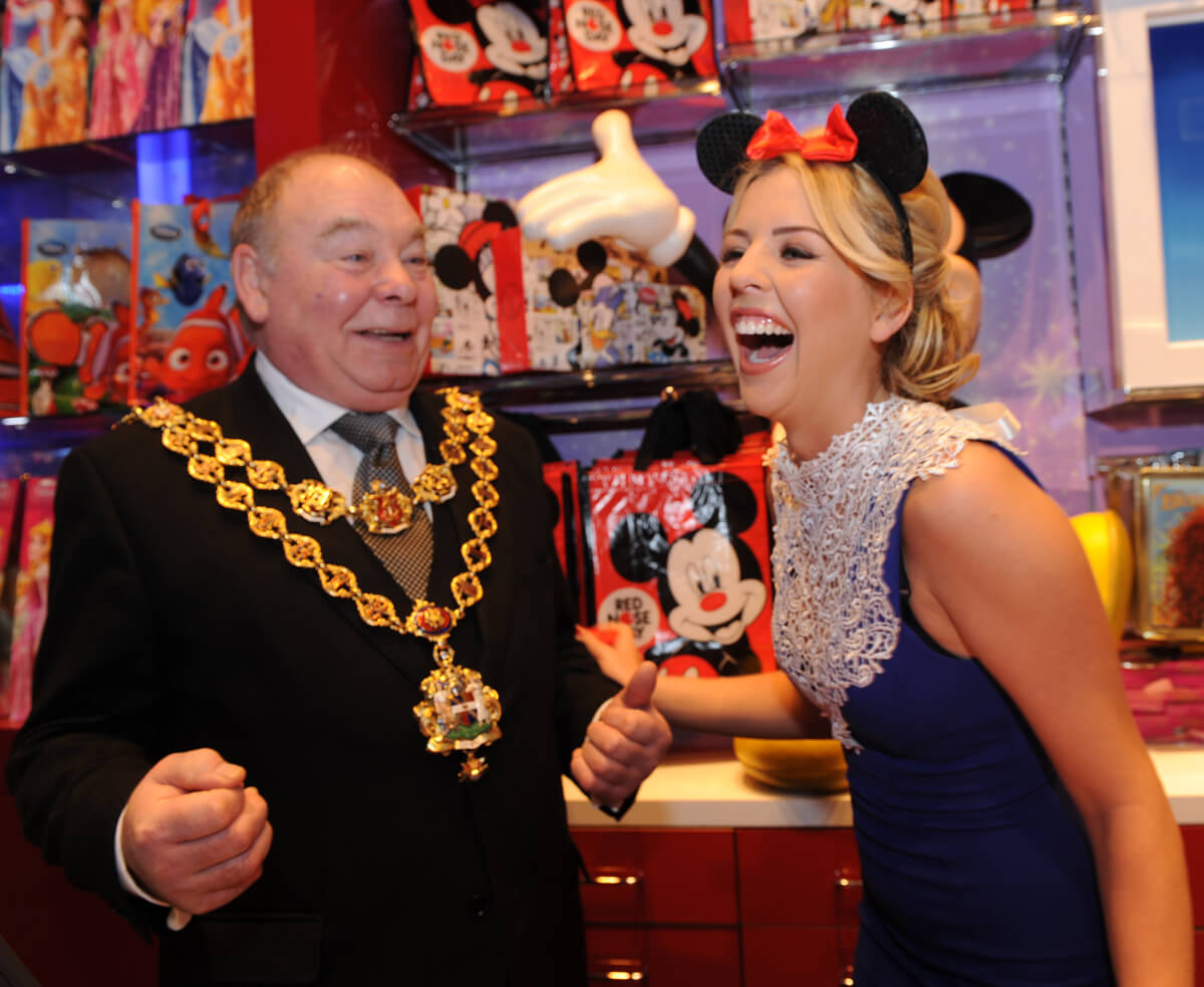 Disney Public Relations Photographer in Birmingham, Red Nose Day PR Photography