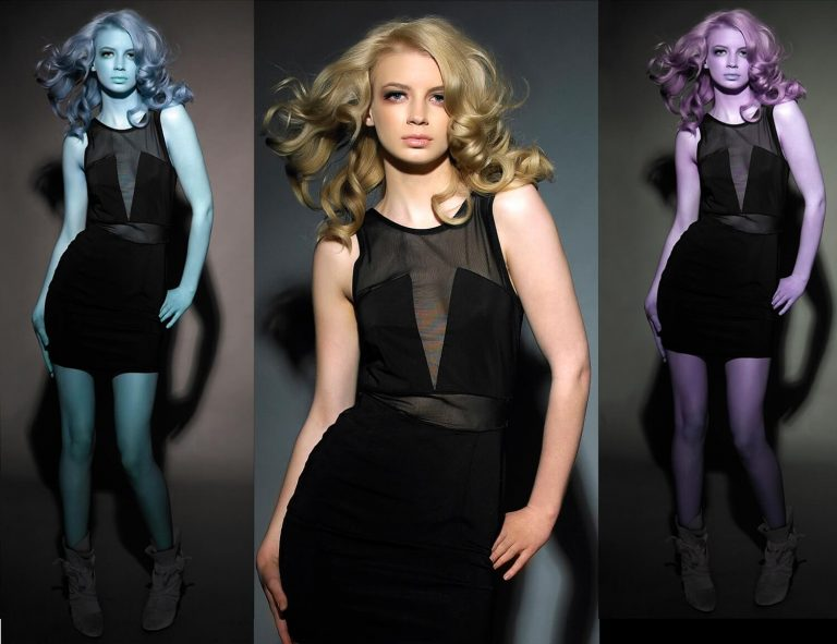 Fashion hairstyle personalised photography for hair salons, Promotional professional photographer for print in Birmingham