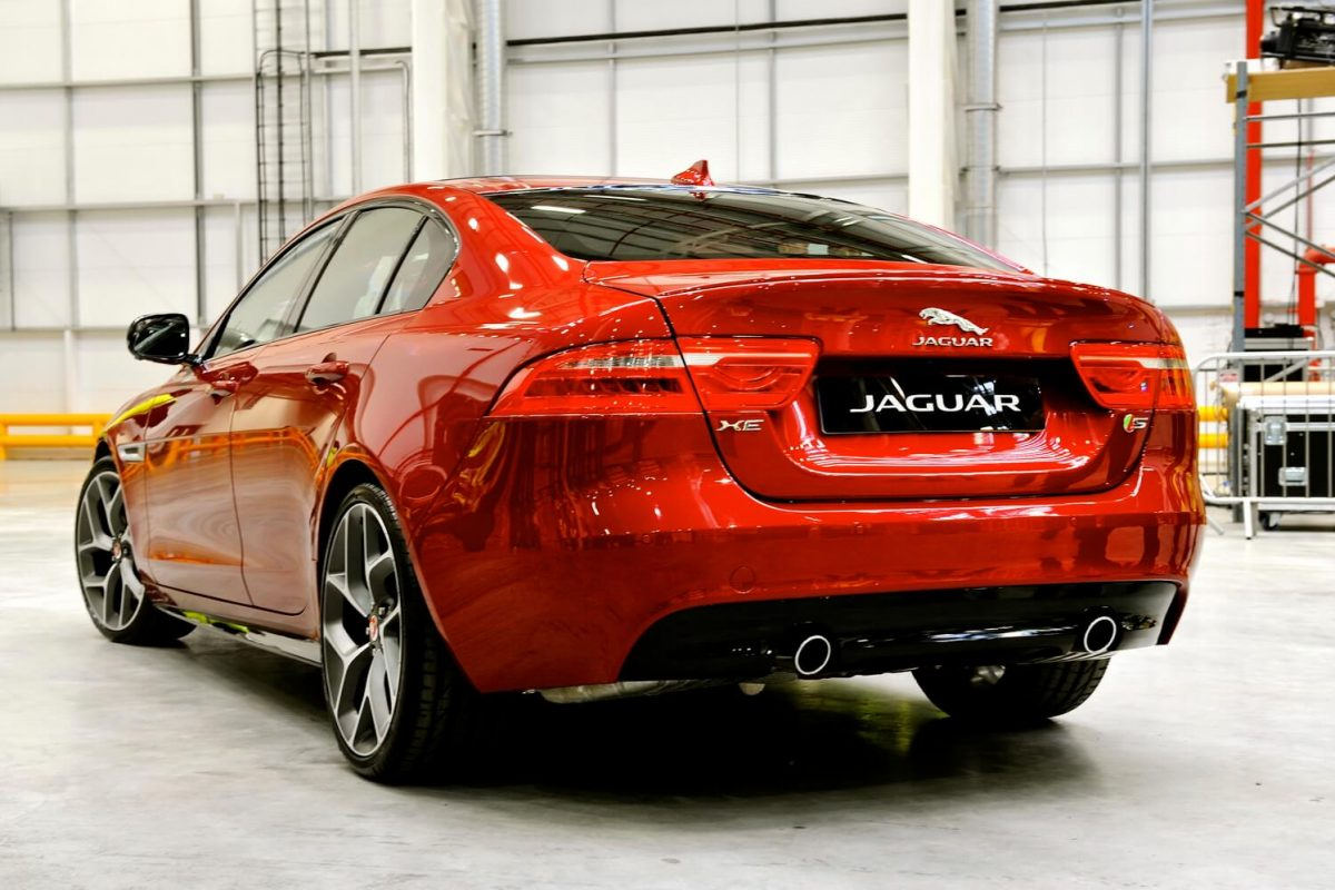 Professional Car Photography - Jaguar XE