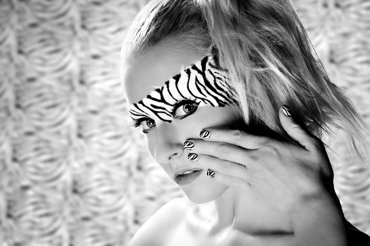 Zebra Girl Fashion Photography