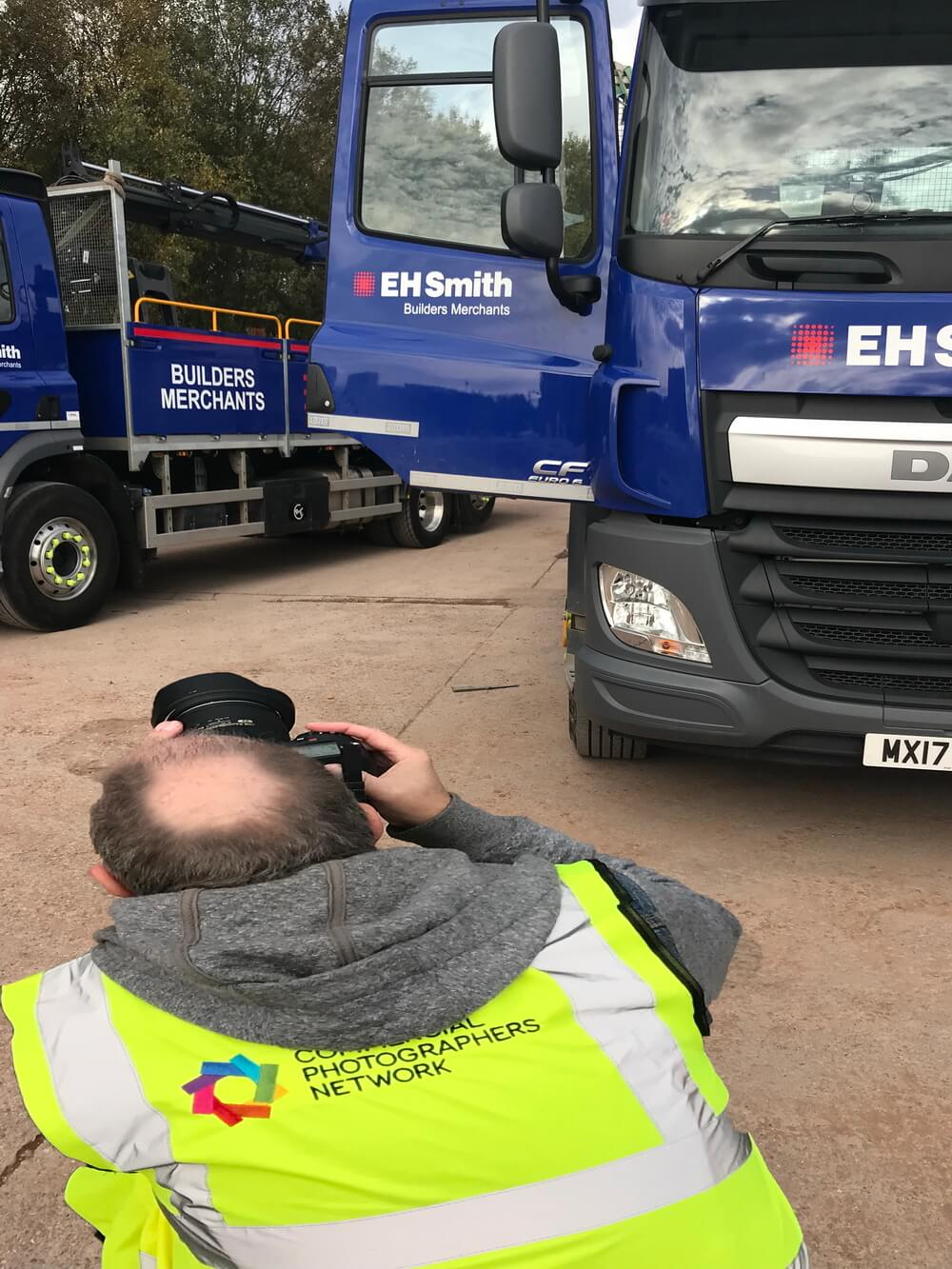 Graham gets down and dirty with the trucks