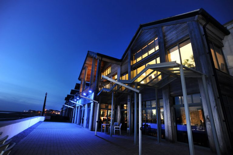 Interior and exterior hotel architectural photography, Birmingham. Seaside Hotel