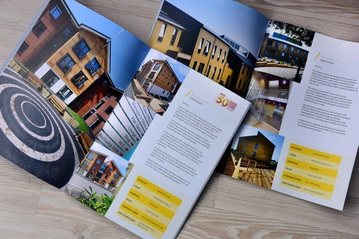 Architectural photography for brochures and websites
