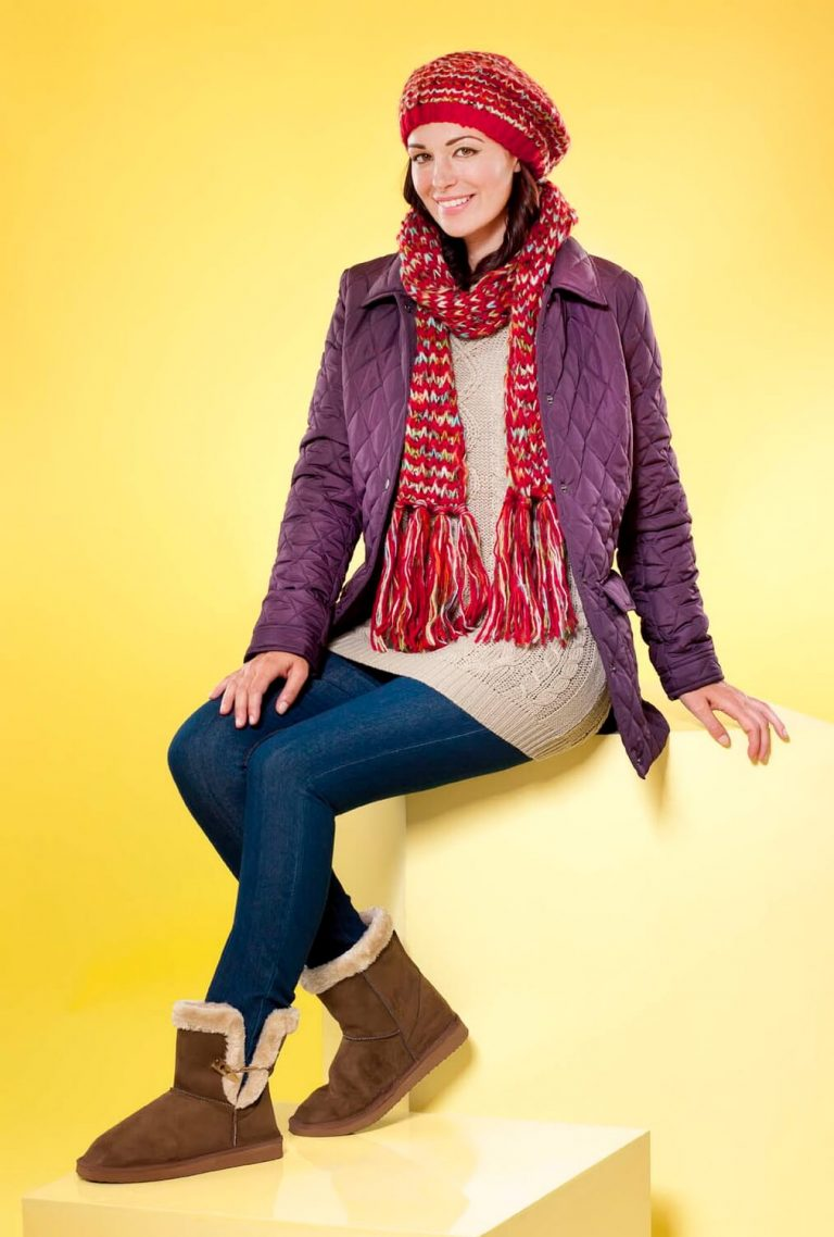 Fashion photography for retail advertising in Birmingham - Autumn , Winter Style