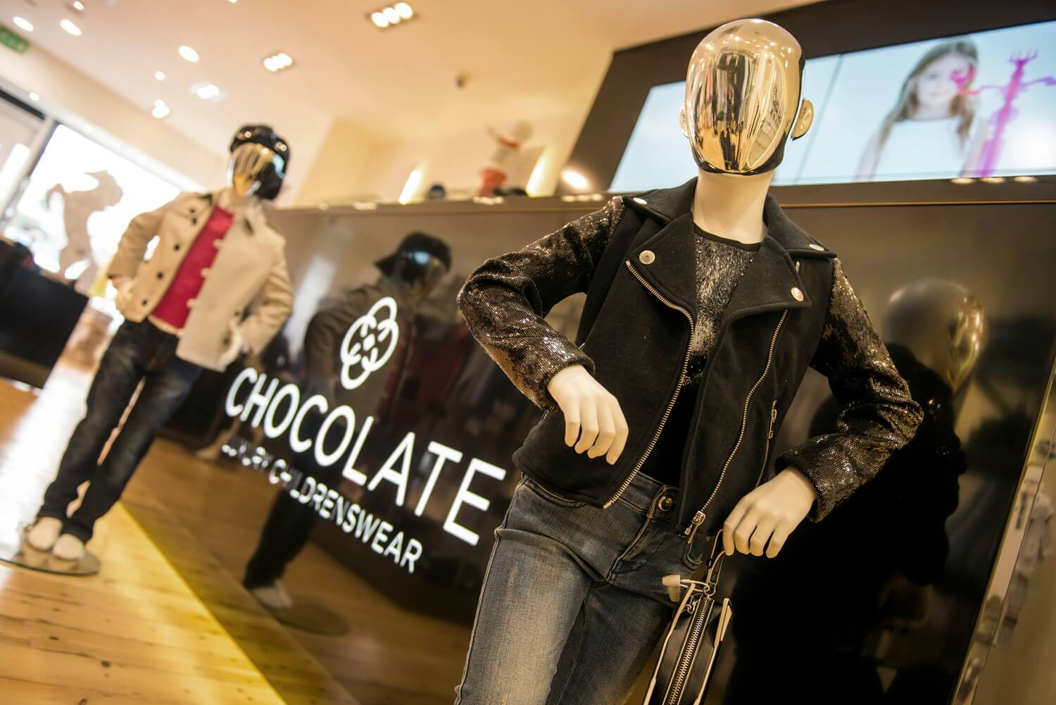 Professional photography for luxury lifestyle fashion and PR magazines, Solihull.  Chocolate Clothing!