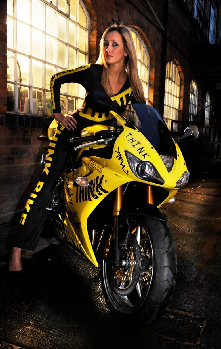 Glamourous advertising campaign photography in Birmingham - THINK BIKE Campaign Shoot