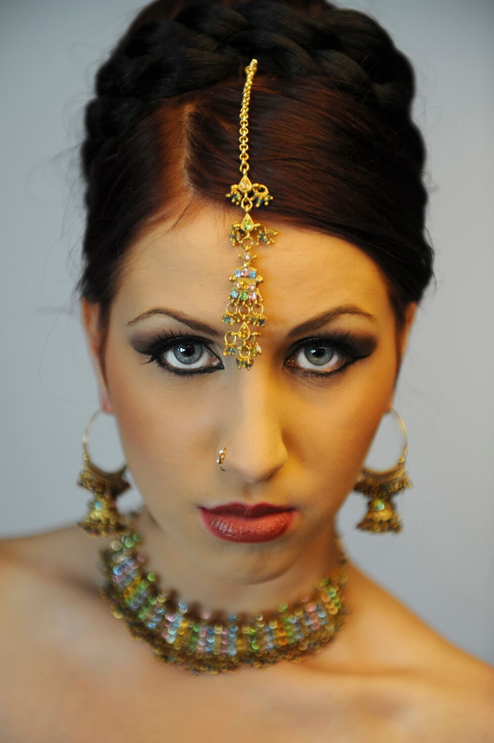 Asian fashion jewellery photography, Professional portrait photographer, powerful and emotional images, Birmingham