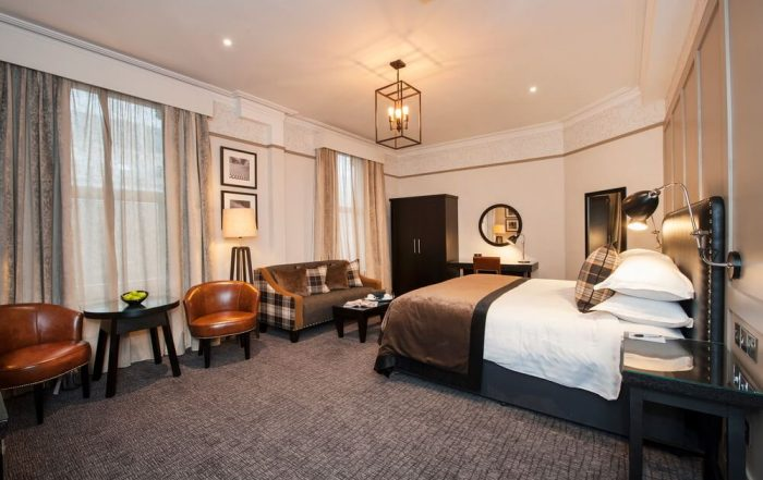 Lifestyle close up of a beautiful room within one of Birminghams premier hotels.