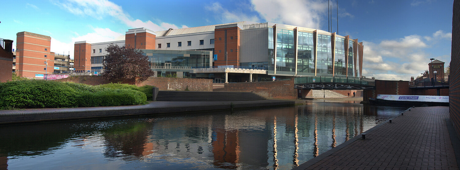 Professional photography commissions for commercial properties, Midlands. Barclay Card Arena – Panoramic