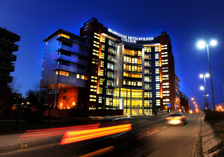Professional architectural photographer, Birmingham. Birmingham Met College