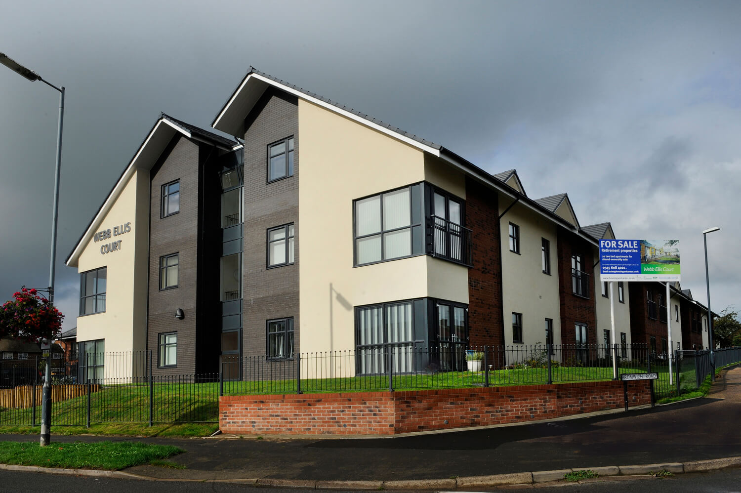 Dramatic architectural photography for property portfolio, Birmingham GO Care Homes