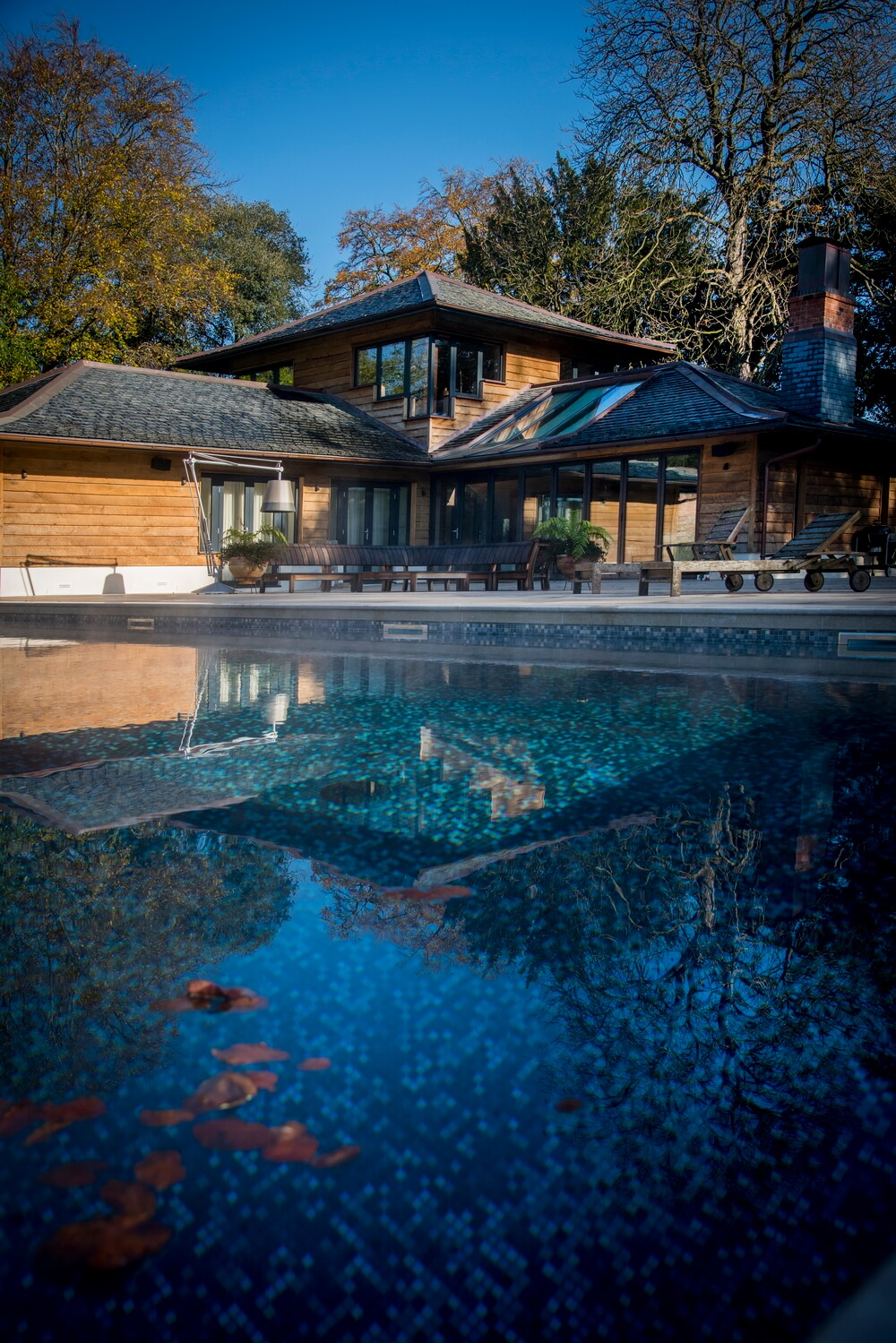Poolside photography - architectural - Cheltenham