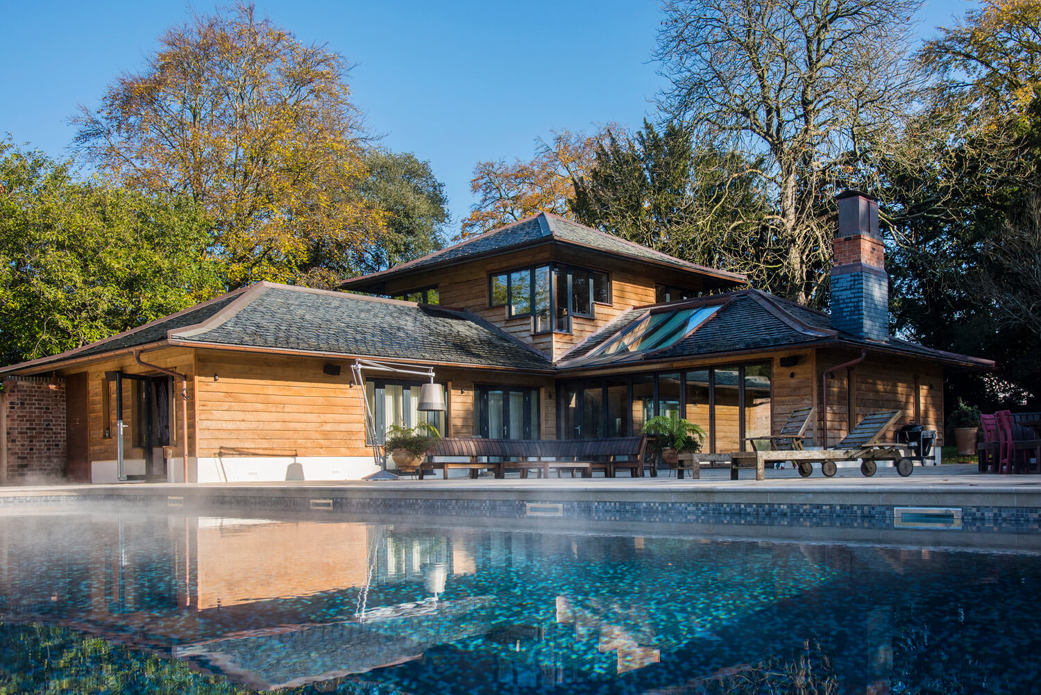 Property and architectural photography for design projects in Cheltenham. New Summer House