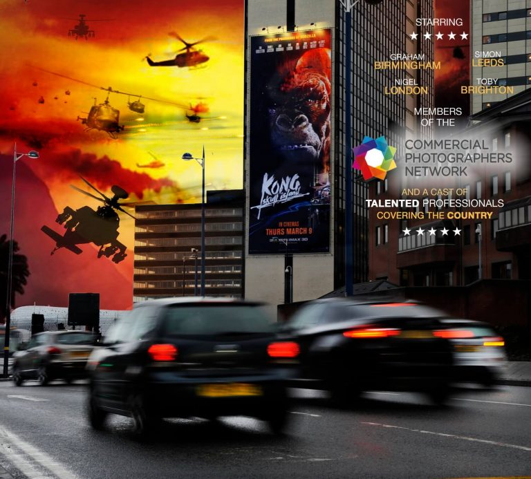 Advertising photography for media, Birmingham, King Kong Poster