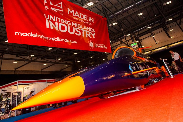 1000mph Bloodhound Vehicle
