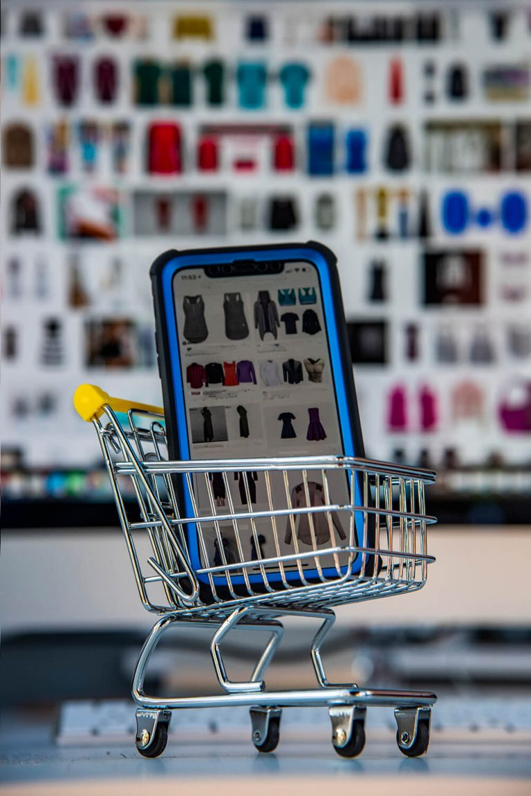 Online Shopping with Phone