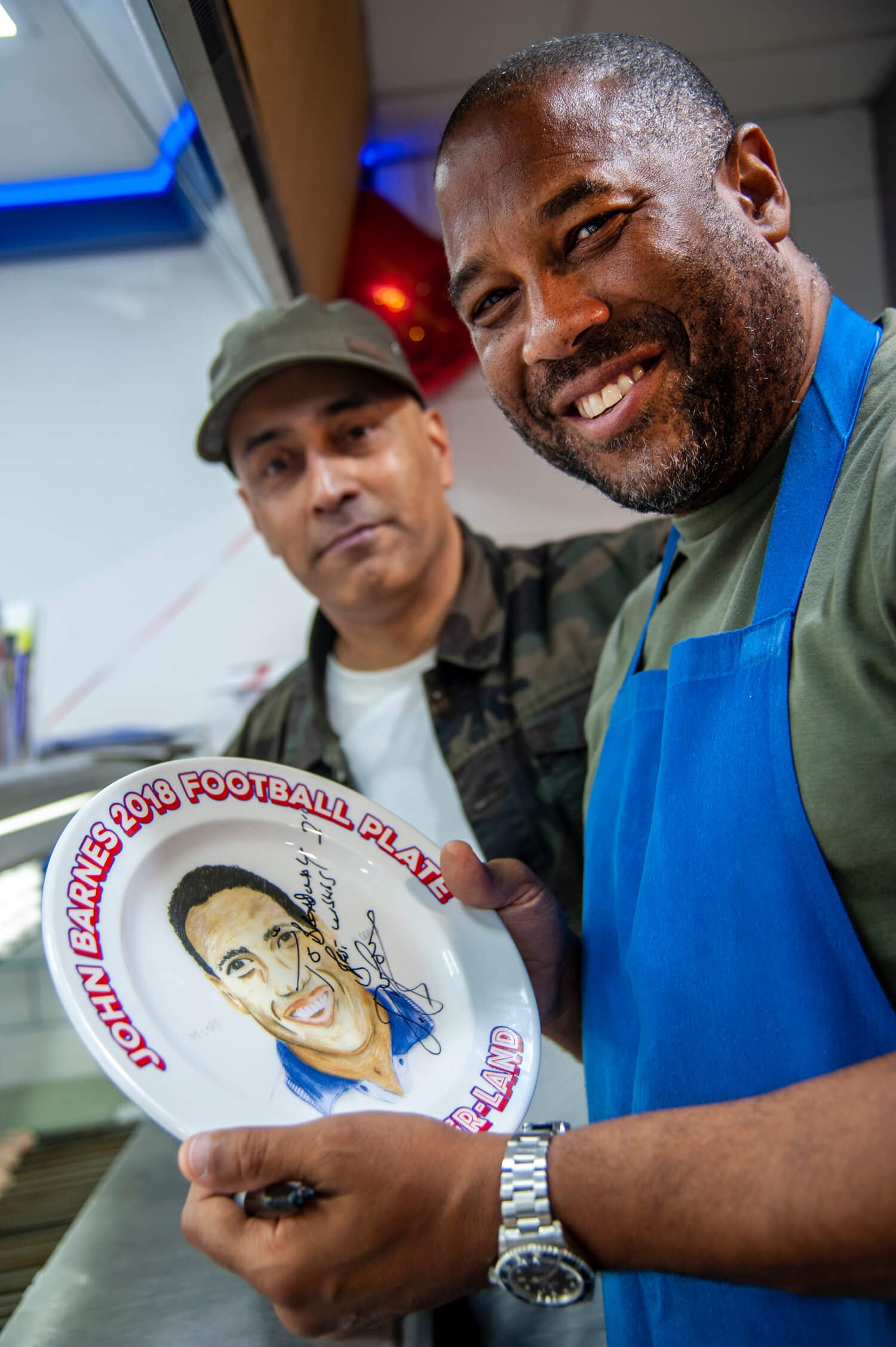 John Barnes for Just Eat PR Birmingham (1)
