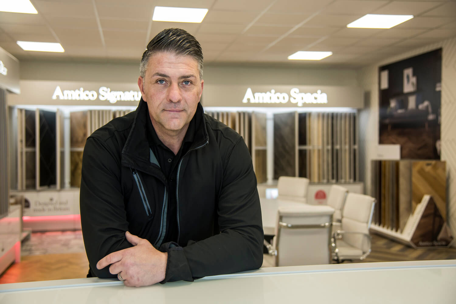 Amtico Floor Fitter in Coventry, Portrait Photographer