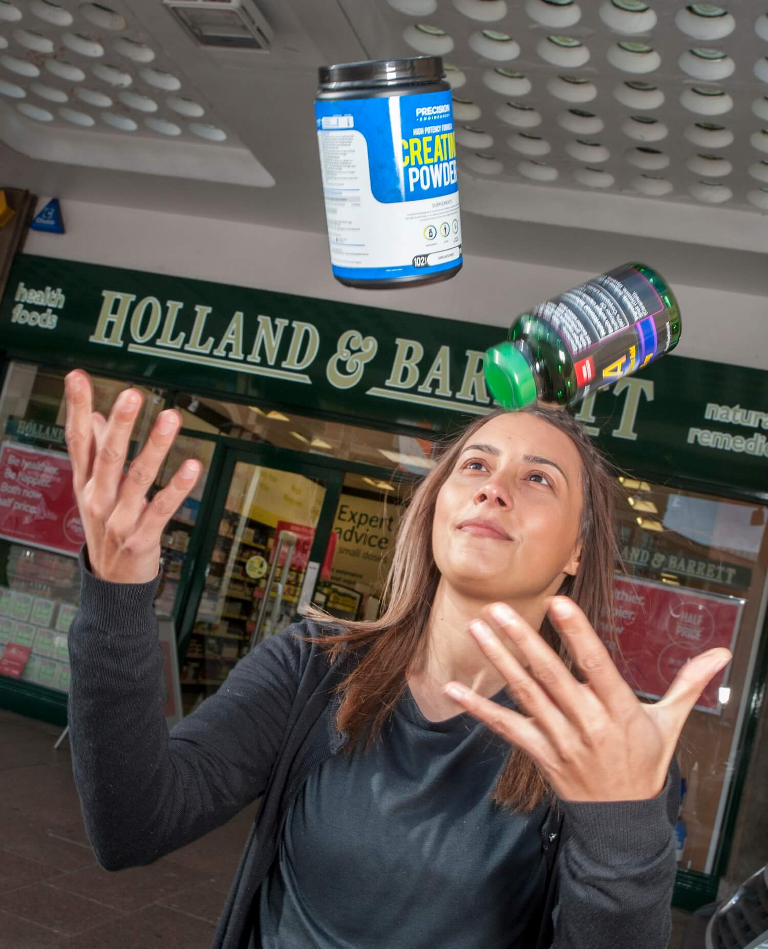 Holland and Barratt New Store Opening Juggling