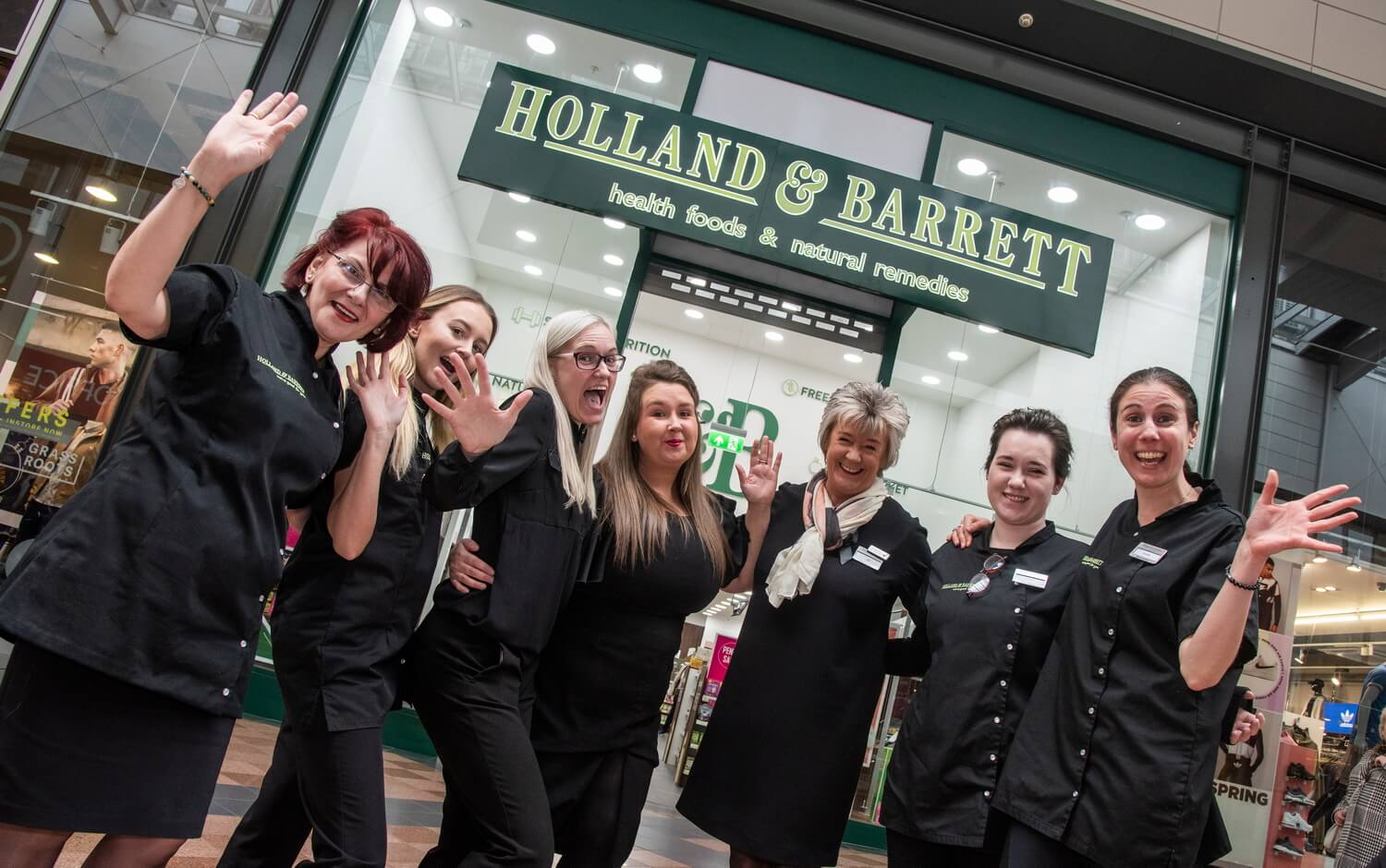 Holland and Barratt, Warrington Store Opening Day