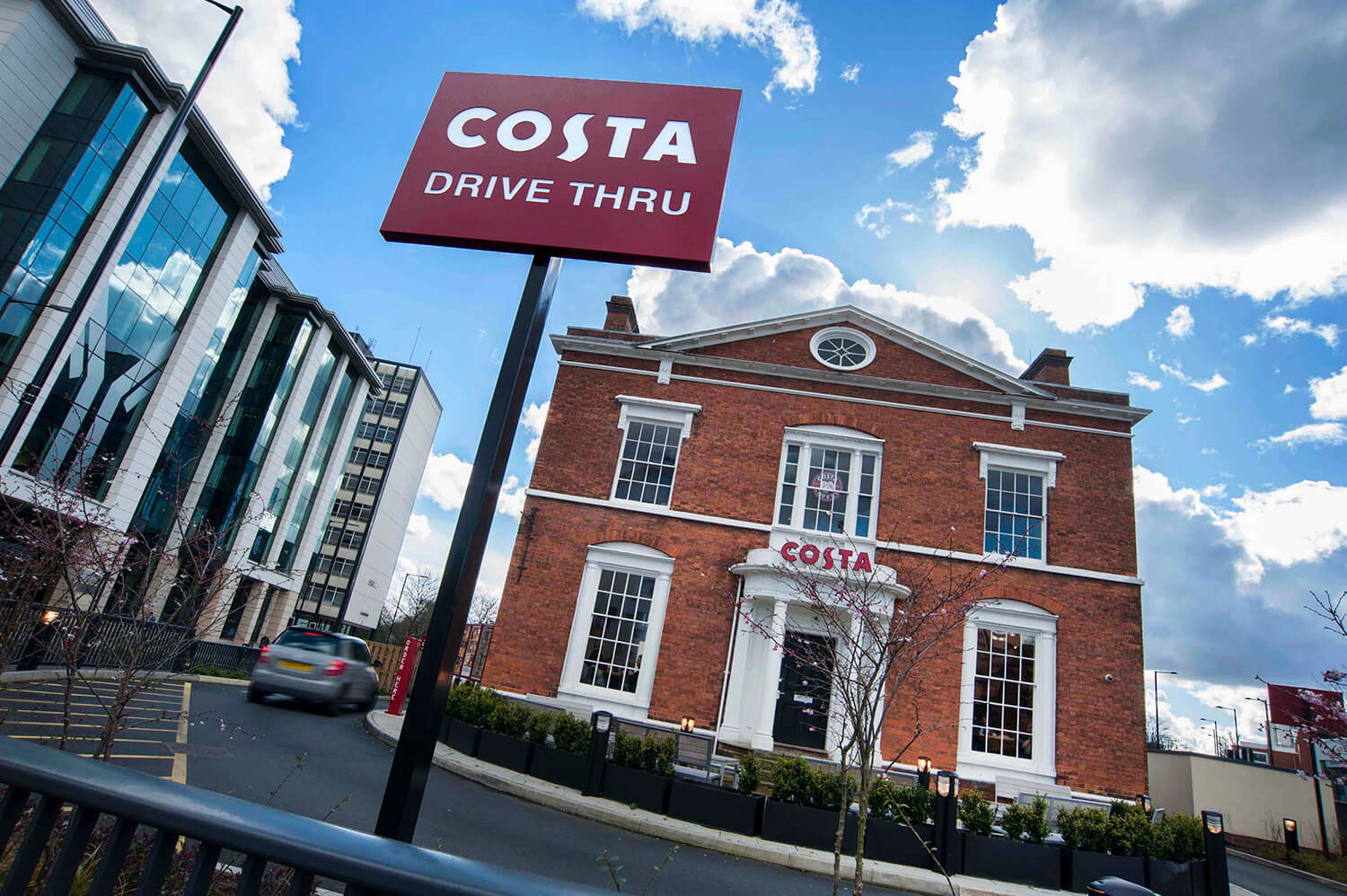 Costa Drive In - Location photography for brands