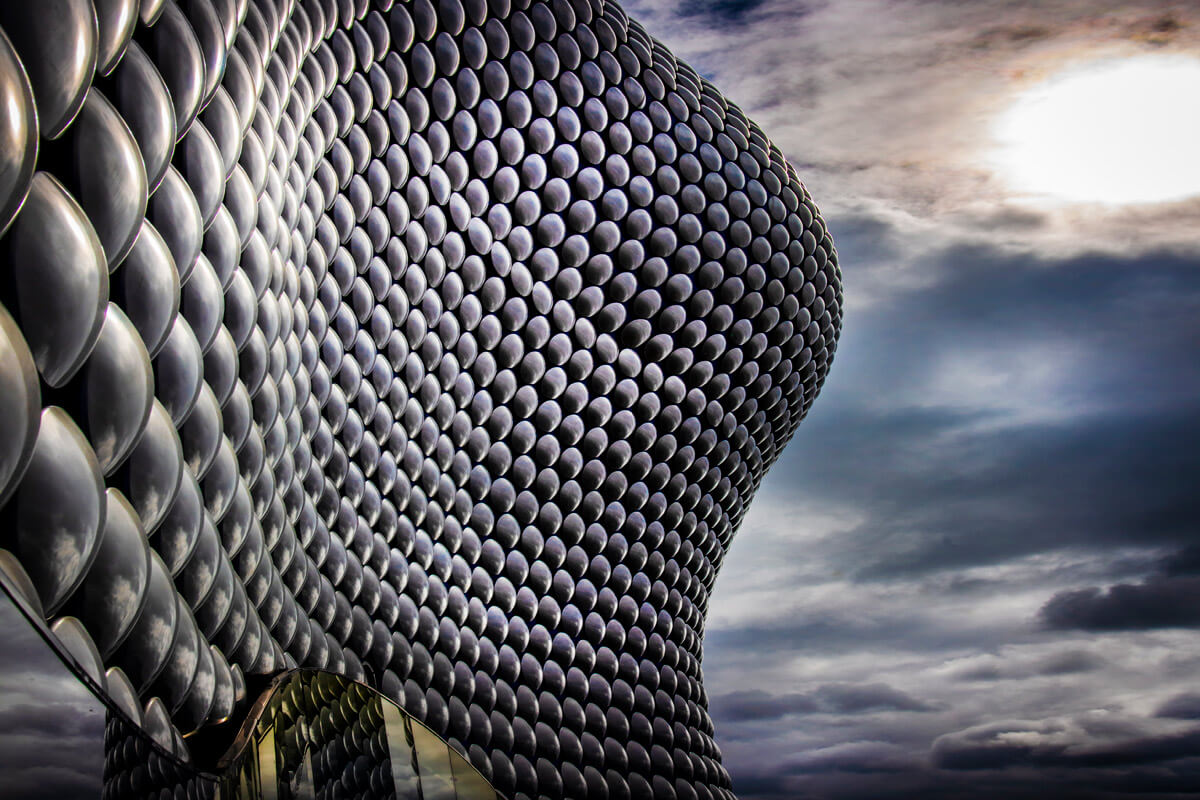 Promotional advertising photography. Image of Selfridges in Birmingham